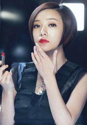 美女明星的时尚妆容
